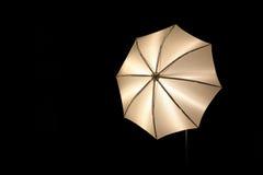 Fotographischer Regenschirm Stockfoto