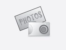 Fotokamera stock illustrationer