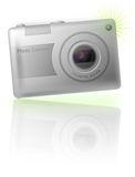Fotokamera, digital Lizenzfreie Stockfotos