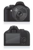 Fotokamera-Vektorillustration Lizenzfreie Stockfotos