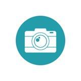 Fotokamerabild-Urlaubsreiseknopf Stockbilder