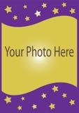 Fotokarte Lizenzfreie Stockbilder