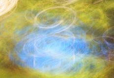 Fotokonst, ljusa färgrika ljusa strimmor gör sammandrag bakgrund Royaltyfri Fotografi