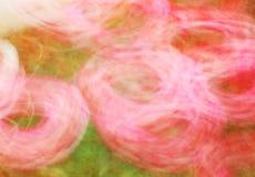 Fotokunst, heldere Kleurrijke lichte stroken abstracte achtergrond Stock Afbeelding