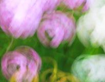 Fotokunst, heldere Kleurrijke lichte stroken abstracte achtergrond, EF Stock Foto's