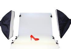 Fotolijst voor productfotografie Stock Foto