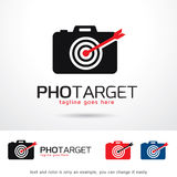 Fotomål Logo Template Design Vector Royaltyfri Illustrationer