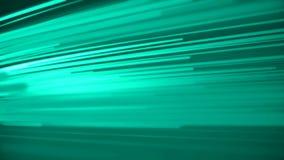 Fotones ligeros hermosos que corren color verde r?pido Concepto de dise?o de Digitaces Animaci?n colocada de l?neas que brillan i libre illustration
