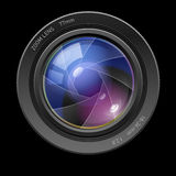 Fotoobjektiv Lizenzfreie Stockfotografie