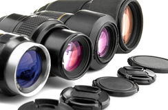 Fotoobjektive Stockfotografie