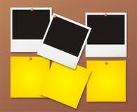fotopolaroid stock illustrationer