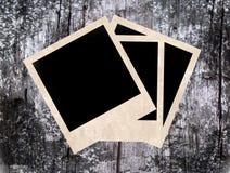 fotopolaroidstappning Fotografering för Bildbyråer