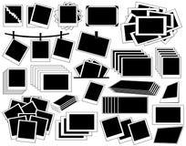 Fotoramsamling Stock Illustrationer