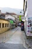 Fotoreportage von Sarajevo- - BaÅ-¡ Ä  arÅ ¡ ija stockbild