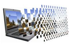 fotos 3D de flutuação Imagens de Stock