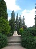 Fotos con paisaje ornamental del parque del fondo del paisaje Imágenes de archivo libres de regalías