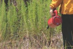 Fotos controladas de la quemadura Foto de archivo libre de regalías