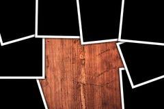 Fotos cuadradas en blanco del formato como espacio de la copia Fotografía de archivo libre de regalías