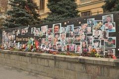 Fotos das vítimas em maydan Foto de Stock