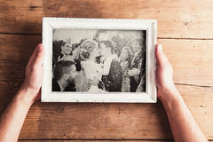 Fotos de la boda imagen de archivo