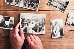 Fotos de la boda imágenes de archivo libres de regalías