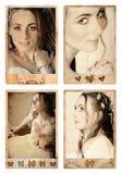Fotos de la novia de Grunge imagenes de archivo