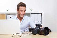 Fotos de la transferencia del fotógrafo fotografía de archivo