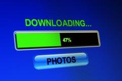 Fotos de la transferencia directa Imagen de archivo libre de regalías