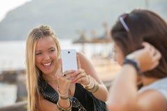 Fotos de las vacaciones de verano de las adolescencias Fotos de archivo libres de regalías