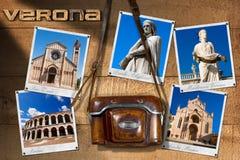 Fotos de Verona Italy - câmera do vintage Fotografia de Stock