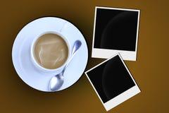 fotos del café Fotografía de archivo