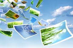 Fotos in der Luft Lizenzfreie Stockfotos