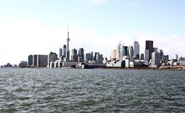 Fotos diurnas de Toronto Ontario foto de archivo