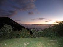 Fotos do nascer do sol em ooty Imagem de Stock