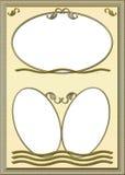 Fotos do quadro ilustração stock