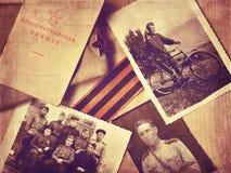 Fotos do vintage da segunda guerra mundial fotografia de stock royalty free
