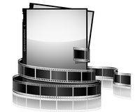 Fotos e película ilustração royalty free