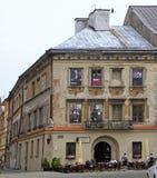 Fotos en portales de las ventanas del edificio Imagenes de archivo