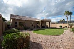 Fotos exteriores de las propiedades inmobiliarias fotografía de archivo