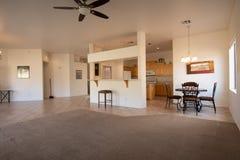 Fotos interiores de las propiedades inmobiliarias imagen de archivo