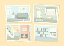 Fotos interiores home Imagens de Stock