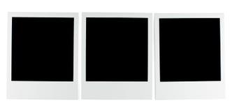 Fotos polaroid Imagenes de archivo