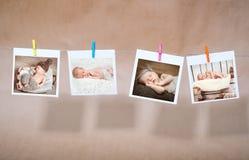 Fotos recién nacidas Imagen de archivo libre de regalías
