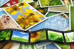 Fotos und Film Stockfoto