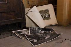Fotos viejas Foto de archivo