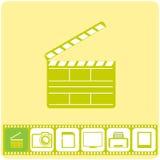 Fotoservice, vektorillustration Fotografering för Bildbyråer
