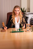 Fotoset in the office Royalty Free Stock Images