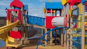 Fotosport des Spielplatzes Aktiver Sport im Freien Lizenzfreie Stockfotos