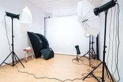 Fotostudio Stock Foto