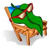 Fotosynthese-Vektor-Illustration Stockfotos